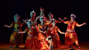 Curtains down on International Odissi Dance Festival