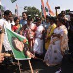 Photo Corner: Congress demonstrates against crime against women, Women celebrates Sree Ushtav