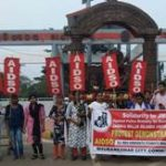 AIDSO shows solidarity with Jamia Milia University students