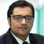 News Boradcasters Fed: Arnab Goswami president,  Jagi Panda VP