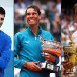 Nadal, Djokovic, Federer to play in Australian Open 2020