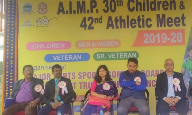 42nd Major Port Athletics Meet and 30th Children Meet kicks off in Paradip