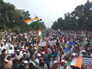 Odisha too witnessed massive protest against CAA