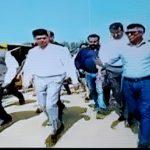 Odisha 5T secy Pandian in Talasari beach