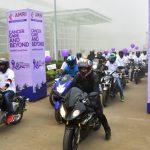 Bhubaneswar  AMRI Hospital Organises Bikeathone for Cancer Awareness
