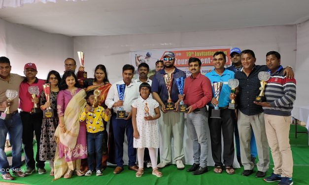 Paradip Port Invitational Golf Tournament held
