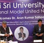 Sri Sri University Hosts International Model United Nations (IMUN)