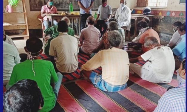 Adani Foundation trains farmers on kharif paddy