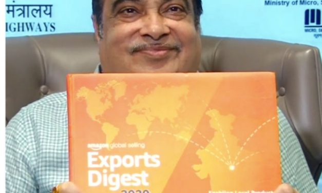 Nitin Gadkari unveils Amazon's Exports Digest 2020, Amazon Global Selling cross $2 billion in cumulative exports