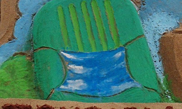 Int'l sand artist Manas celebrates World Tourism Day
