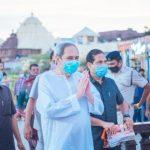 Odisha CM visits Puri, reviews Jaganath Temple development works