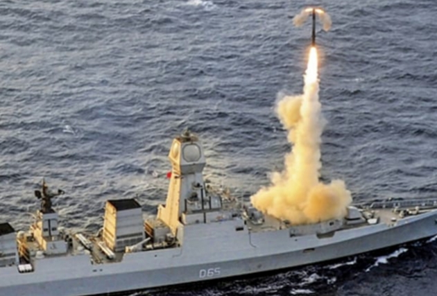 BrahMos Supersonic Cruise Missile Successfully Test Fired INS Chennai