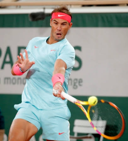 Nadal became the fourth player to earn 1000 wins