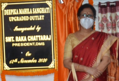Salem Steel Counter inaugurated at Deepiak Mahila Sanghati Showroom