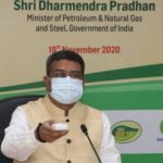 Petroleum minister Pradhan lays foundation stone for the first 50 LNG fueling stations