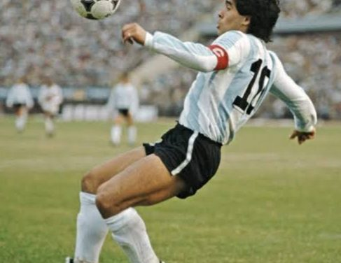 Diego Maradona and the Feet of God