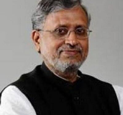 Sushil Modi, new chairman of Legislative Council Ethics Committee