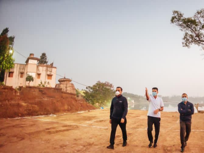 Odisha CM's 5T Secy. visits Ekamrakhetra