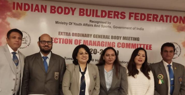 Odisha's Sumitra Tripathy Executive Member All India Body Builders Federation