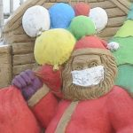 In'tl famed sand artist Manas Sahoo wishes Happy Christmas