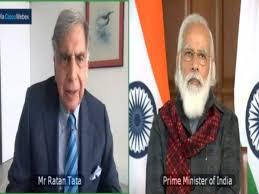 PM Confers Assocham Enterprise of the Century Award on Ratan Tata
