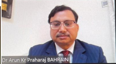Vishva Odisha appoints Arun Praharaj as Goodwill Ambassador for Bahrain