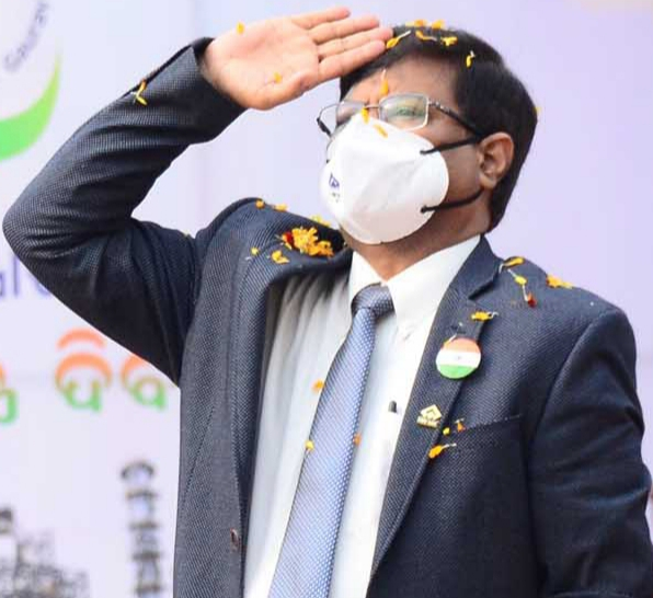 Rourkela Steel Plant CEO gives a call for zero-accident plant on Republic Day