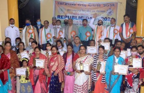 Kolkota based Utkaliya Milita Mancha celebrates Republic Day
