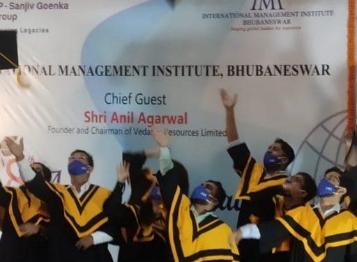 Anil Agarwal addresses 8th Convocation of IMI-Bhubaneswar