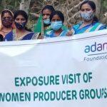 Adani Foundation organizes exposure visit for Women Producer Groups