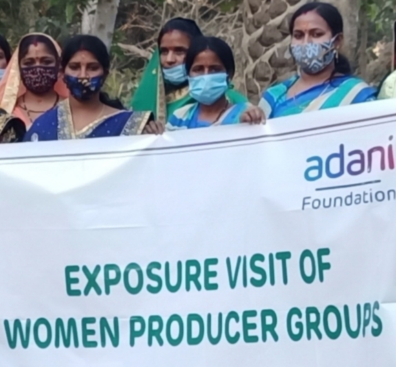 Adani Foundation organizes exposure visit for Women Producer Groups