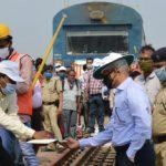 Khurda Road-Nayagarh railwayline electrification completed
