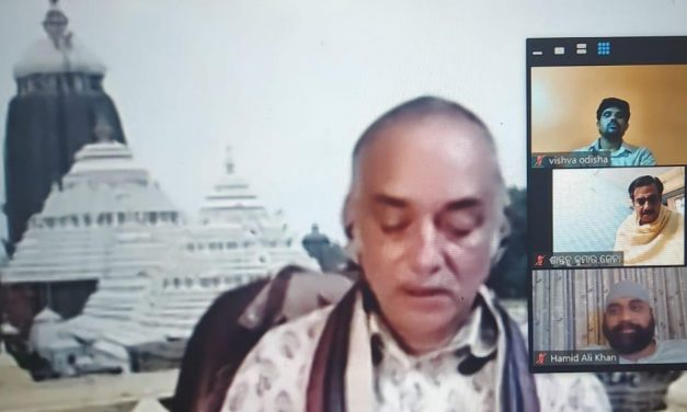 Bahrain Odia Samaj webinar on Tradition of Jagannath