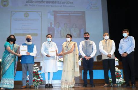 Union education minister  presents AICTE Lilavati Awards 2020 on women empowerment