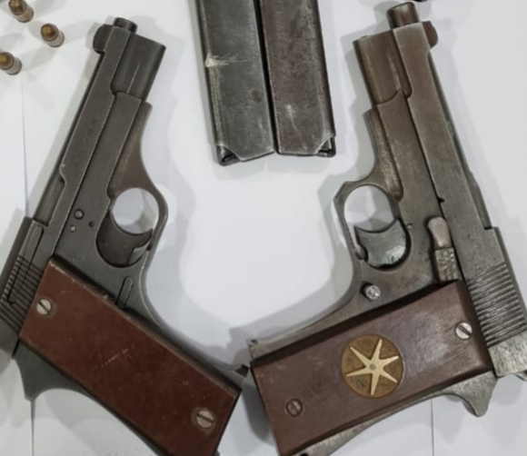 Crime Branch STF team busts arms racket