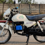 Vedanta employees 'green engineer' old petrol bike into e-bike at Jharsuguda