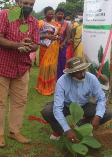 India's largest plantation program in a single district launched in Odisha, 5 million trees for elephant corridor