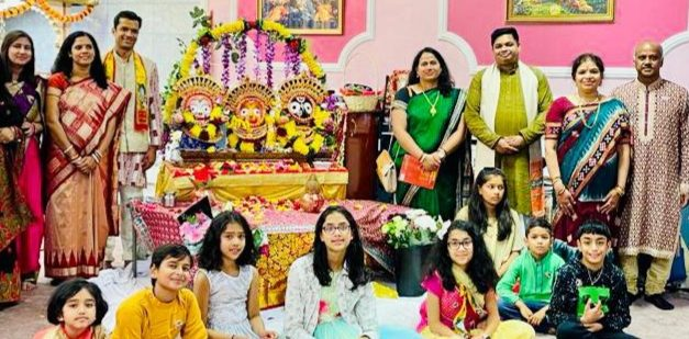Lord Jagannath's Idol Installation Ceremony Hosted in Manchester