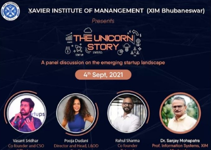 The Unicorn Story – Business Conclave at XIM Bhubaneswar