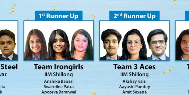 Tata Steel Season 8 of Steel-a-thon: XIMB winner, IIM Shillong runners up
